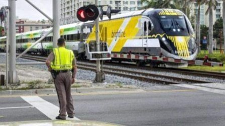 Tren de alta velocidad de Florida iniciará esta semana sus primeros viajes