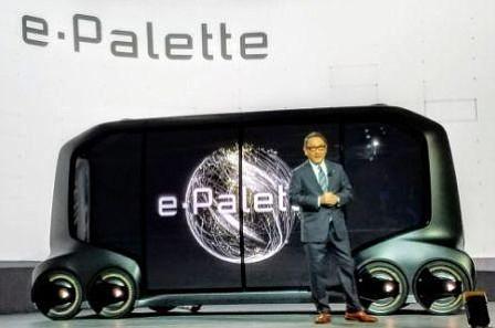 Toyota presenta un nuevo concepto de vehículo comercial eléctrico autónomo
