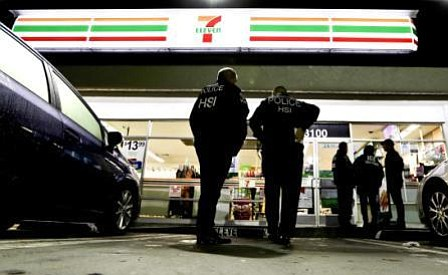 Immigration agents descend on 7-Eleven stores in 17 states