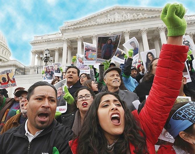 ESPERANZA. Un juez de San Francisco bloqueó temporalmente la decisión de Donald Trump de poner fin al DACA, que evita la deportación de cientos de miles de 'dreamers'.