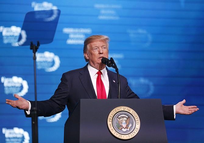 """Trump pide al Congreso que pase la """"ley del amor"""" para proteger a los Dreamers"""