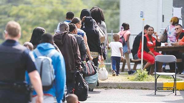 Avalancha de inmigrantes en Canadá