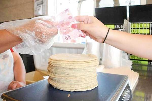 Anuncian que aumentará el precio de la tortilla