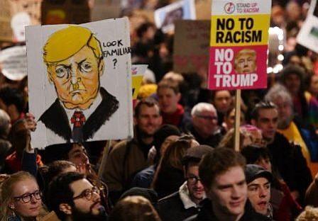 Medios británicos creen que Trump canceló la visita a Londres para evitar protestas masivas
