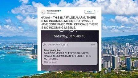 Los ciudadanos de Hawái reciben una alerta falsa de ataque de misiles