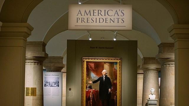 """PRESIDENTES. La exhibición de """"Los Presidentes de Estados Unidos"""" en la Galería Nacional de Retratos del Smithsonian."""