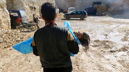 EEUU responsabiliza a Rusia por supuesto ataque químico del régimen sirio