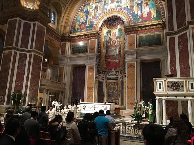 MISA. El 11 de febrero orarán por Venezuela en la Catedral de San Mateo en Washington, DC.