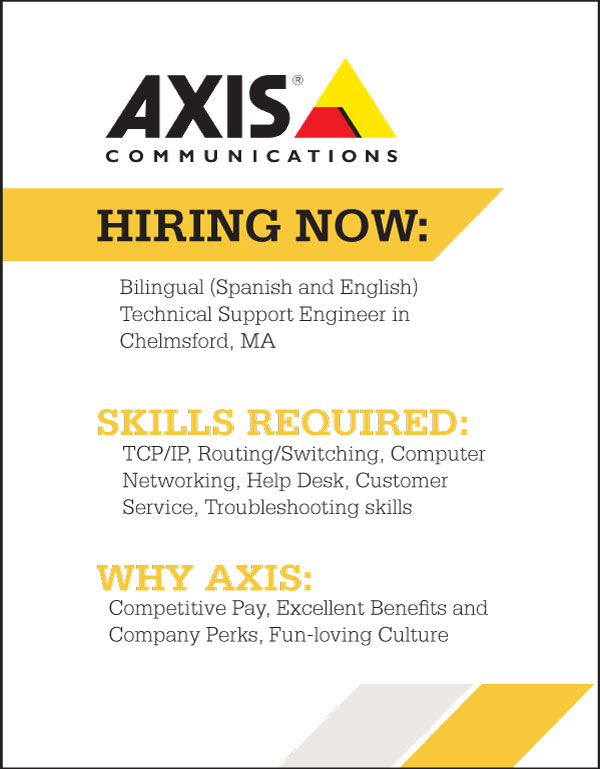 Jobs at Axis Communications