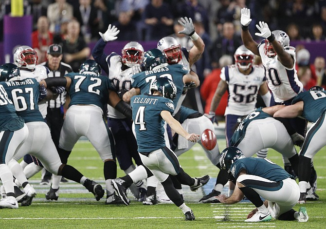 Eagles de Philadelphia ganaron a los Patriots en el Super Bowl