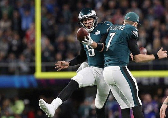 Foles, Eagles knock off Brady, Patriots in Super Bowl LII