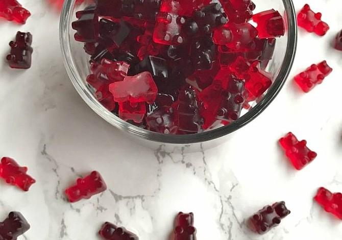 Receta para San Valentín: Gomitas de vino