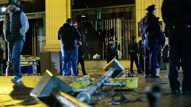 Filadelfia amanece con destrozos por las celebraciones de la Súper Bowl