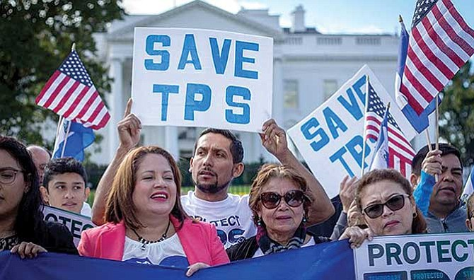 Piden incluir el TPS en campaña por legalización