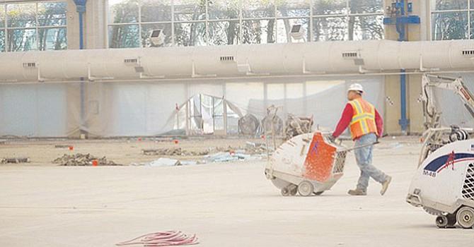 Los trabajos de ampliación y remodelación del Centro de Convenciones de San Diego considerados clave en el plan. Horacio Rentería/Archivo/El Latino.