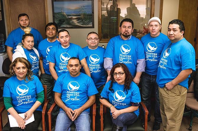 El Capítulo de Boston del Movimiento Nuevas Ideas fue lanzado oficialmente el 3 de febrero de 2018, por un grupo de salvadoreños que apoyan la candidatura presidencial de Nayib Bukele, actual alcalde de San Salvador.