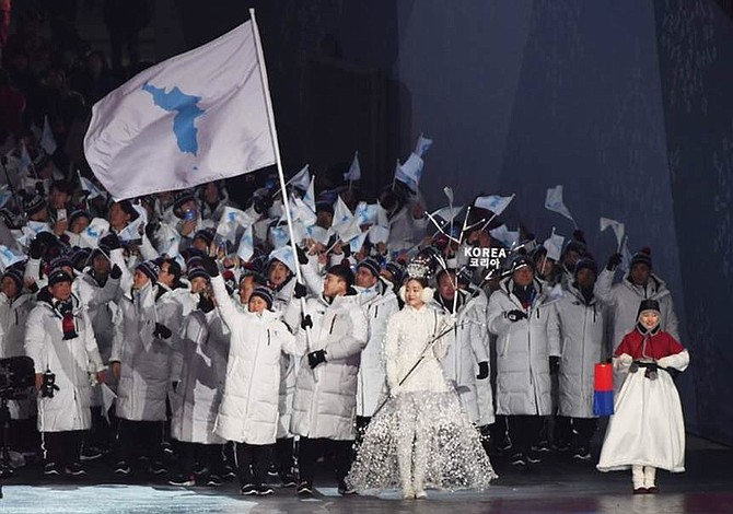 Una histórica ceremonia abre los Juegos del acercamiento intercoreano