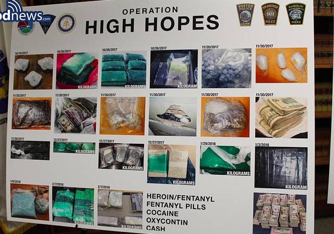 Desmantelaron una banda de narcotráfico de fetanilo en Boston