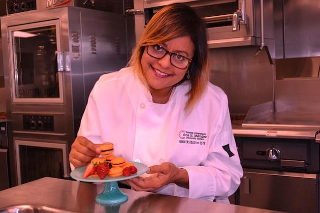CHEF. La Chef Millie Vélez es la coordinadora del programa de Artes Culinarias del Sistema Universitario Ana G. Méndez.