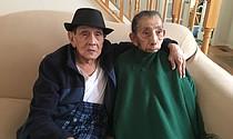 JUNTOS. Emilio y Josefa Salinas en su casa de Frederick, Maryland.