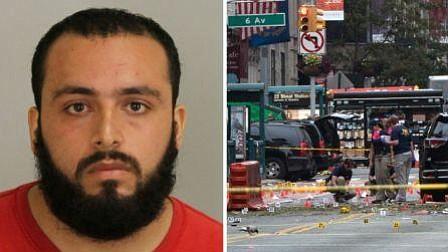 Cadena perpetua para terrorista que colocó bombas en Nueva York en 2016