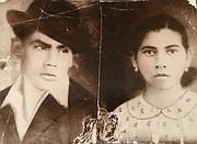 RECUERDO. Emilio y Josefa Arévalo de Salinas cuando estaban jóvenes en El Salvador.