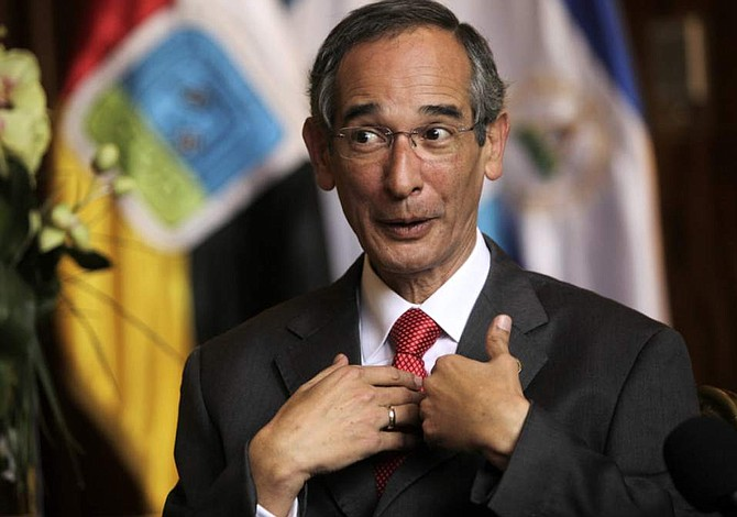 Former Guatemalan President Colom arrested on corruption charges