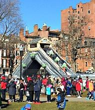 Festival de invierno para niños en el Boston Common