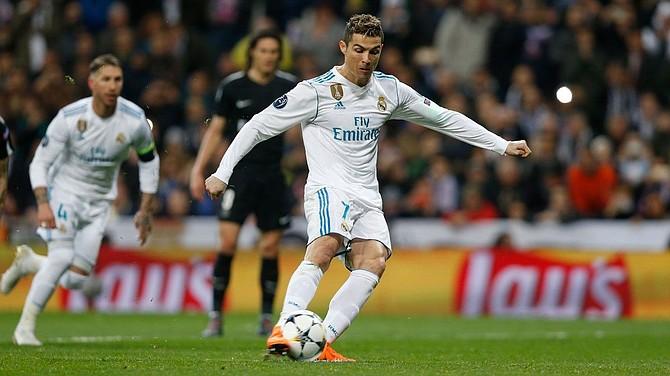Cristiano Ronaldo anotó dos tantos en el encuentro contra el PSG