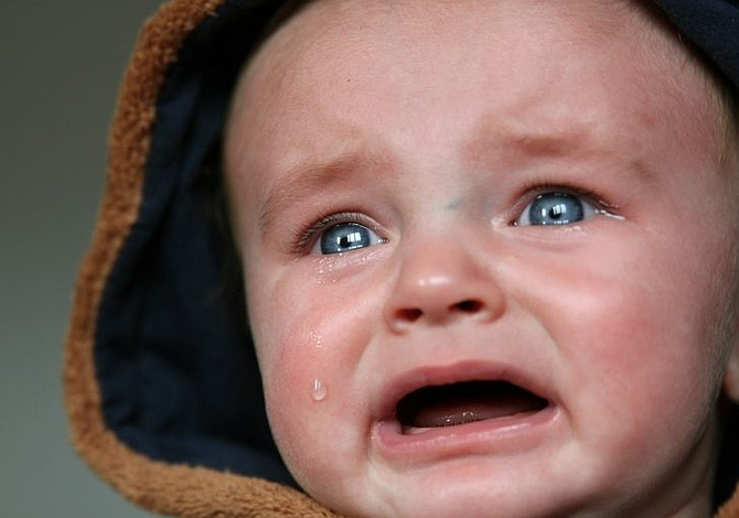 ¿Tu hijo llora tanto que pierde el sentido?