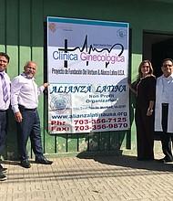 EL SALVADOR. Fundación de la Clínica Ginecológica Mujer Creación Divina en Santa Ana.