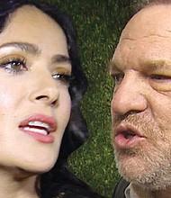 El productor Harvey Wenstein amenazó con romperle las rótulas a Salma Hayek si rechazaba sus propuestas sexuales. Foto: TMZ.com