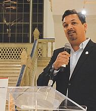 El Presidente de MACC Project San Diego, Arnulfo Manriquez.