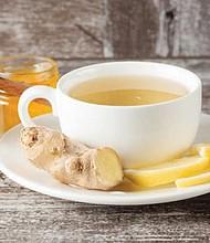 El té de jengibre es un gran remedio para la gripe, los dolores musculares y el catarro. Foto: Natursan.