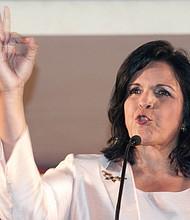 Minou Tavárez Mirabal, famosa activista, política y filóloga.