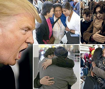 PREVENIDOS. Son cientos los que han presentado la solicitud de reunificación familiar por temor a cambios en la ley migratoria.