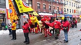 Danza del León en Chinatown, Boston