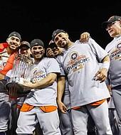 Astros son los actuales campeones de la Serie Mundial