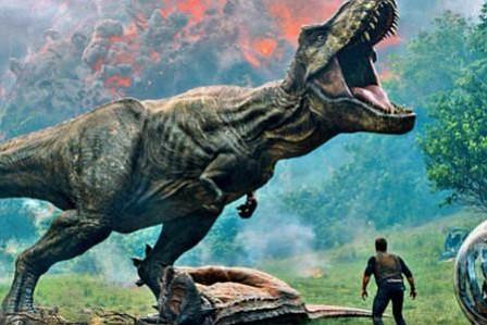 """""""Jurassic World: el reino caído"""", quinta de la saga, llega con sello español"""