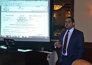 EMPRESARIO. Roberto López, vicepresidente de la Cámara de Comercio Salvadoreña Americana.