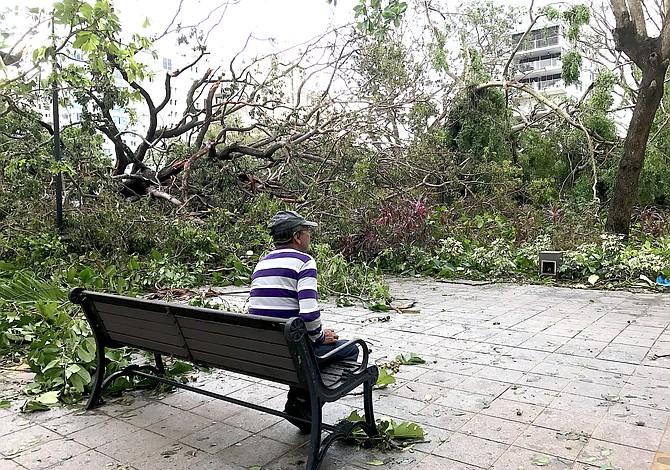 Exposición de fotos de Puerto Rico después del huracán María