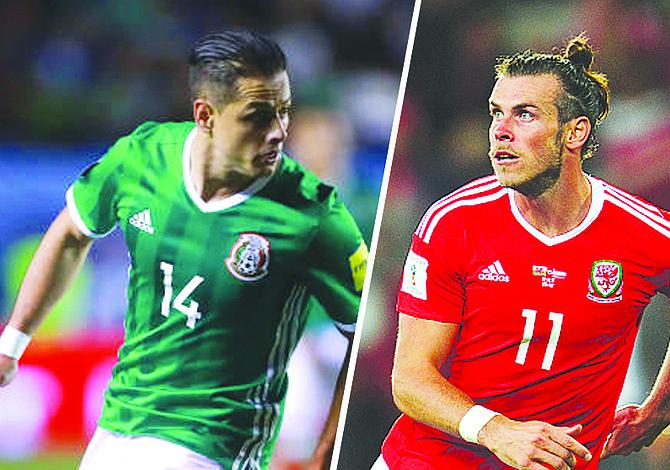 Contra Gales antes del Mundial