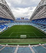 SEDE. El Estadio Olímpico de Sochi será una de las sedes del Mundial 2018 de Rusia.