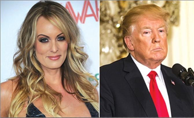 Actriz porno demanda al presidente
