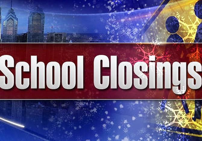 Lista de escuelas de MA que cerrarán el miércoles también