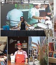 Riqueza Cultural. En pleno centro de la ciudad, ciudadanos y turistas pudieron apreciar lo que Perú tiene para ofrecer.
