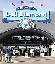Dell Diamond, 3400 E. Palm Valley Blvd. en Round Rock (TX 78665).