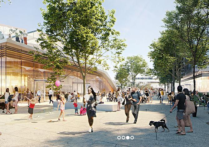 Con o sin Amazon, Suffolk Downs va encaminado a convertirse en un nuevo y vibrante vecindario