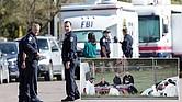 GRACIAS, APD. La rápida respuesta y acción de la policía de Austin les permitió identificar, ubicar y acorralar al sospechoso de haber sembrado de paquetes-bomba varias zonas de la ciudad capital.