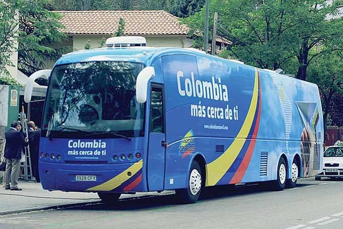 Consulado móvil para colombianos